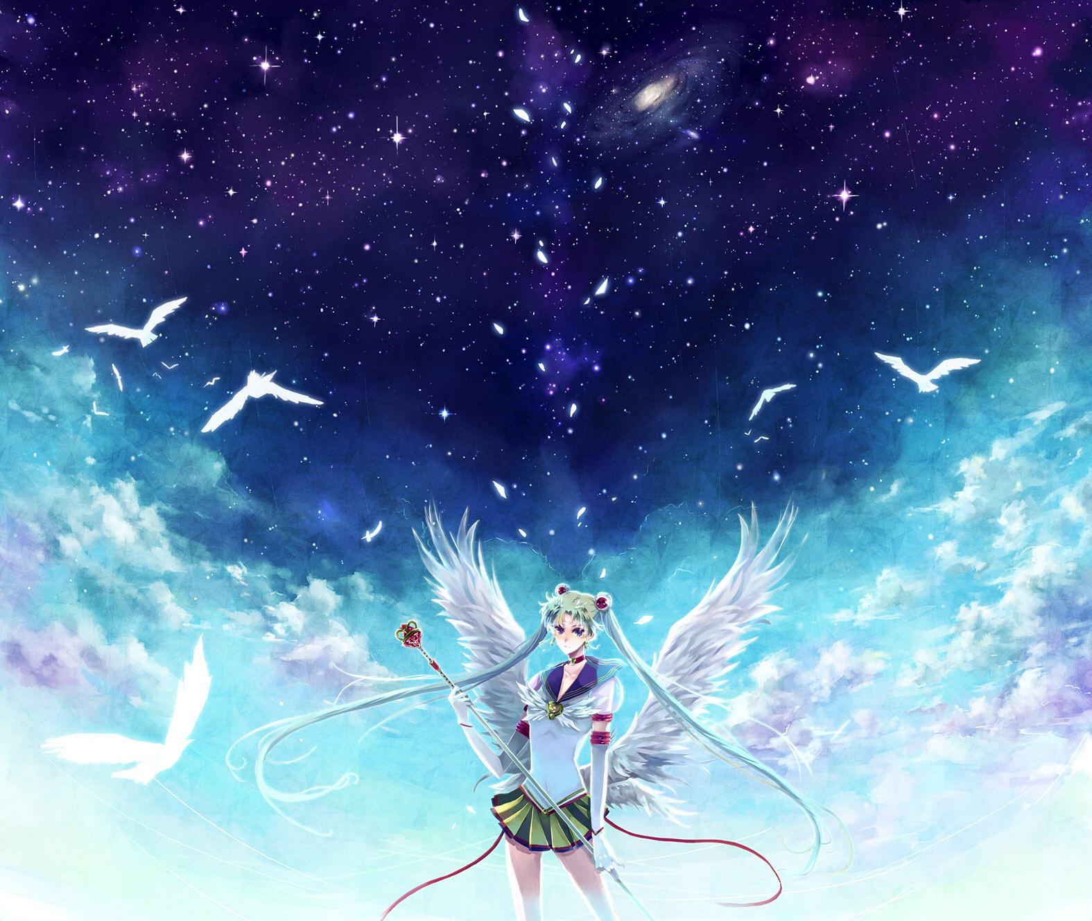 Fondos de pantalla sailor moon anime chicas descargar imagenes - Anime para fondo ...
