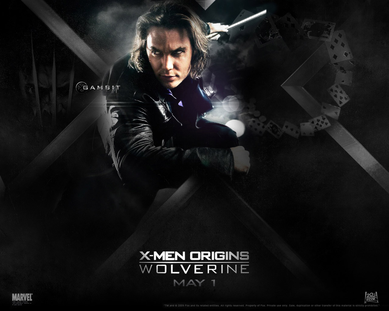 Wallpaper X Men Origins Wolverine Movies