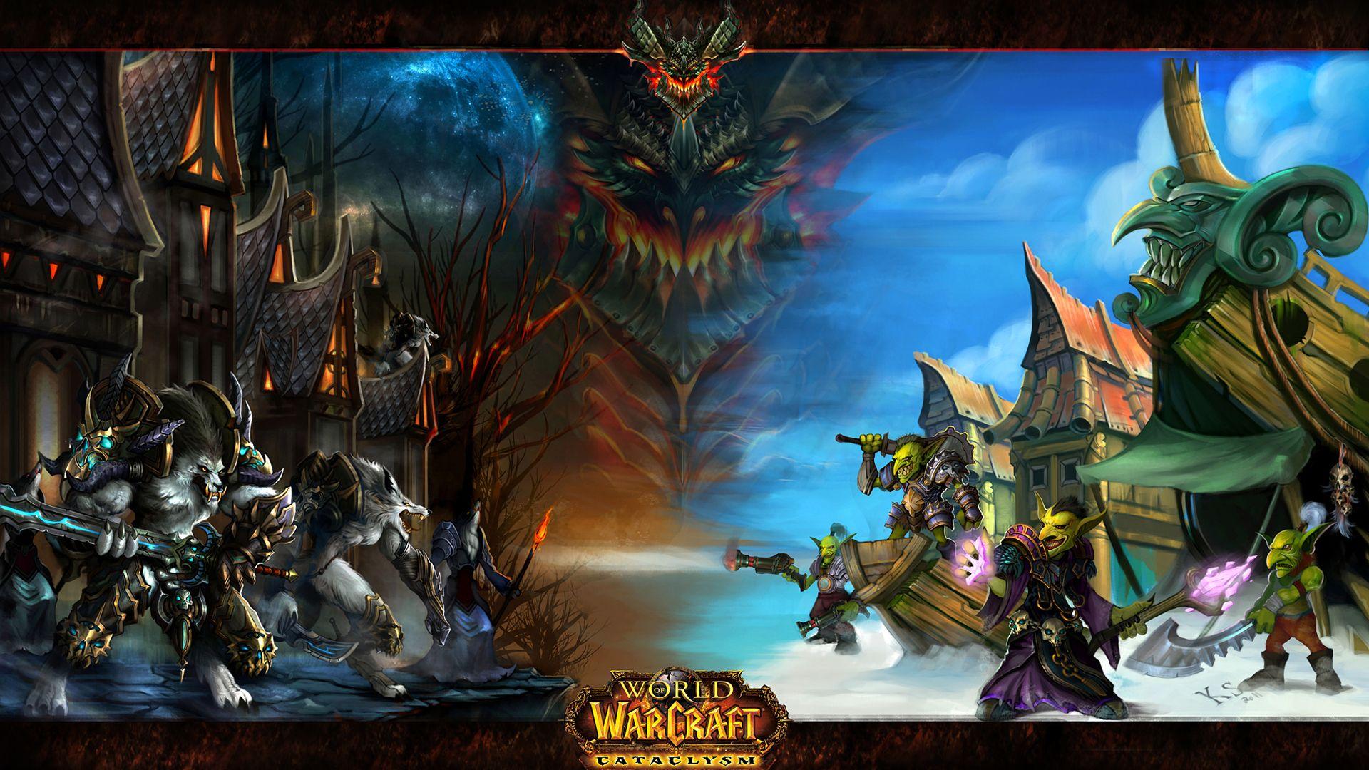 Fonds D Ecran World Of Warcraft Jeux Telecharger Photo