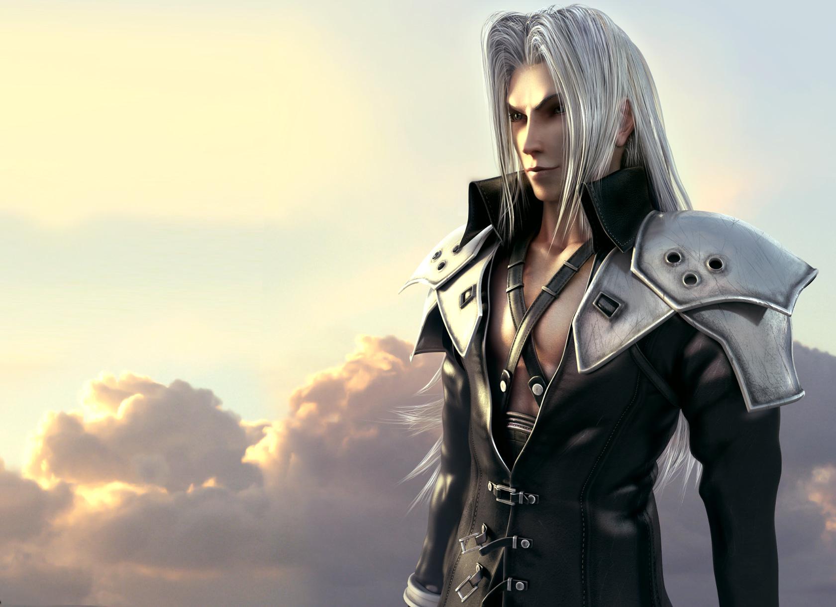 Wallpaper Final Fantasy Final Fantasy Vii Crisis Core Vdeo Game