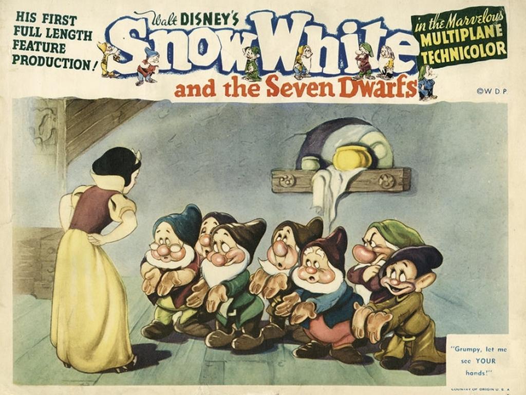 Fonds d 39 ecran disney blanche neige et les sept nains - Telecharger blanche neige et les 7 nains ...