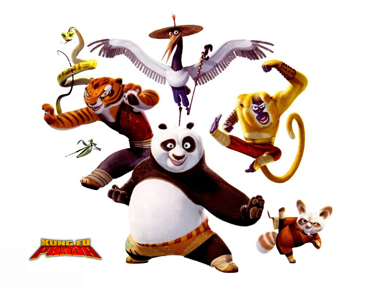 fondos de pantalla kung fu panda el fondo blanco animación descargar