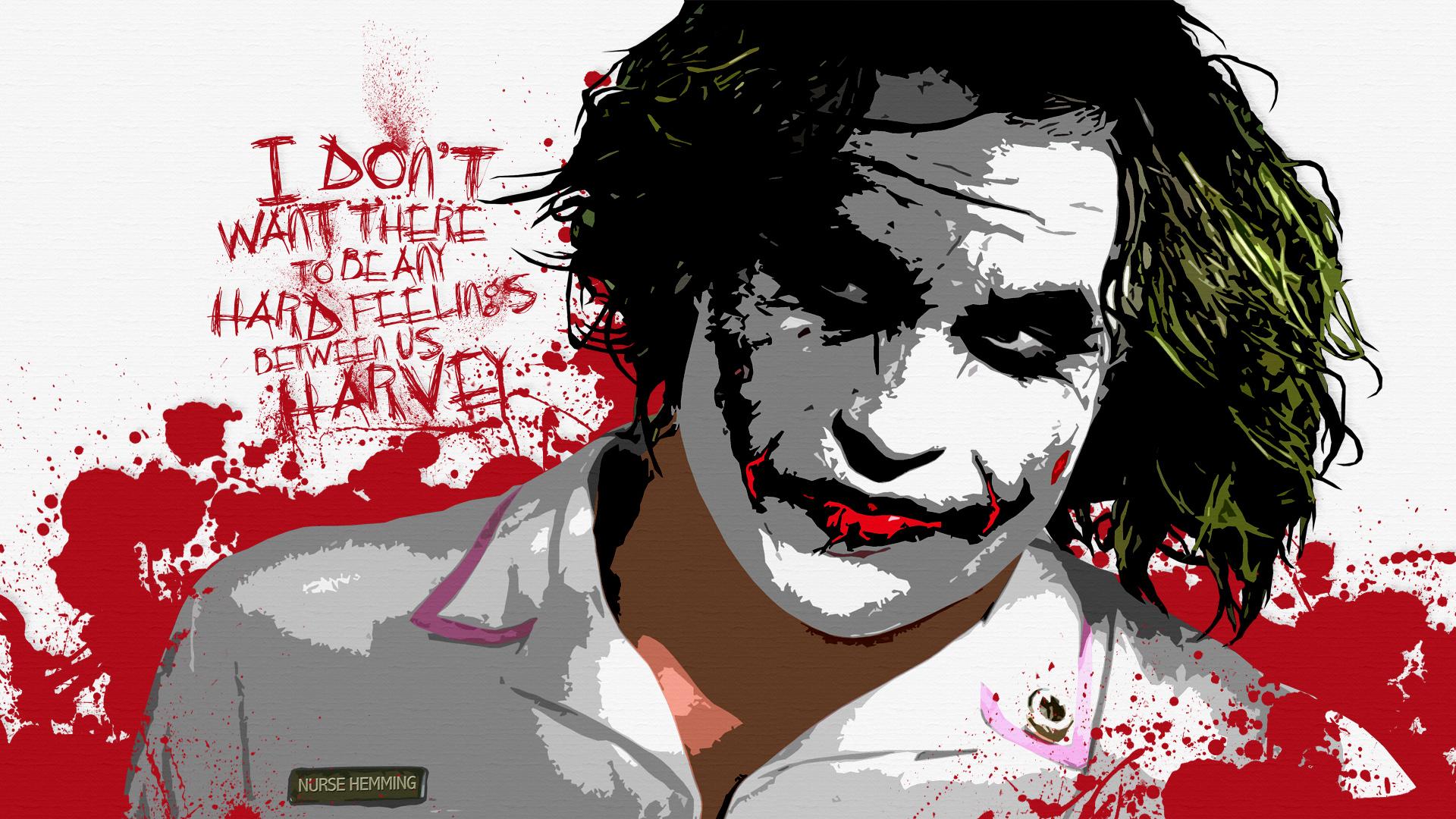 Desktop Wallpapers The Dark Knight Joker Hero Movies 1920x1080