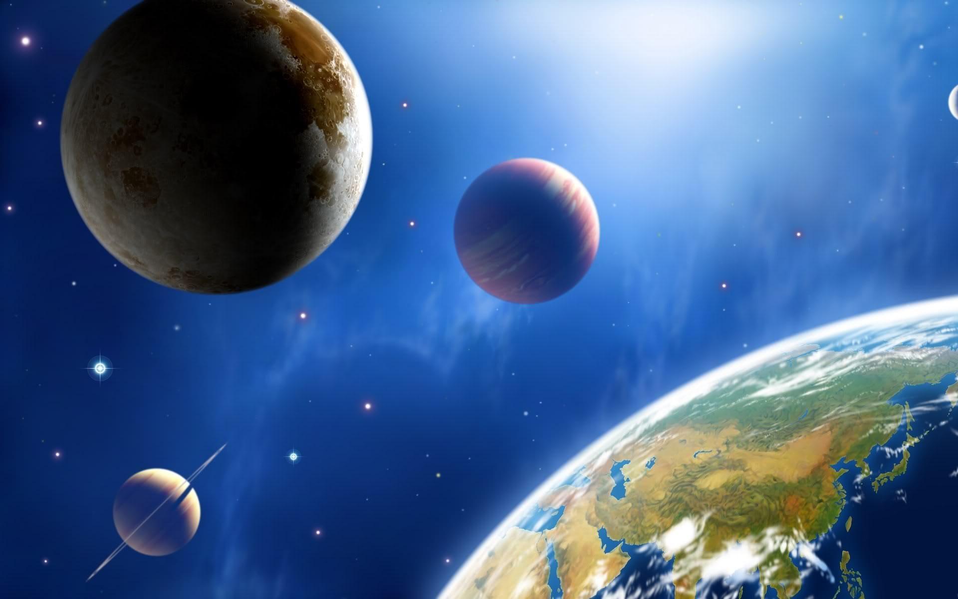 картинки космоса и планет красивые