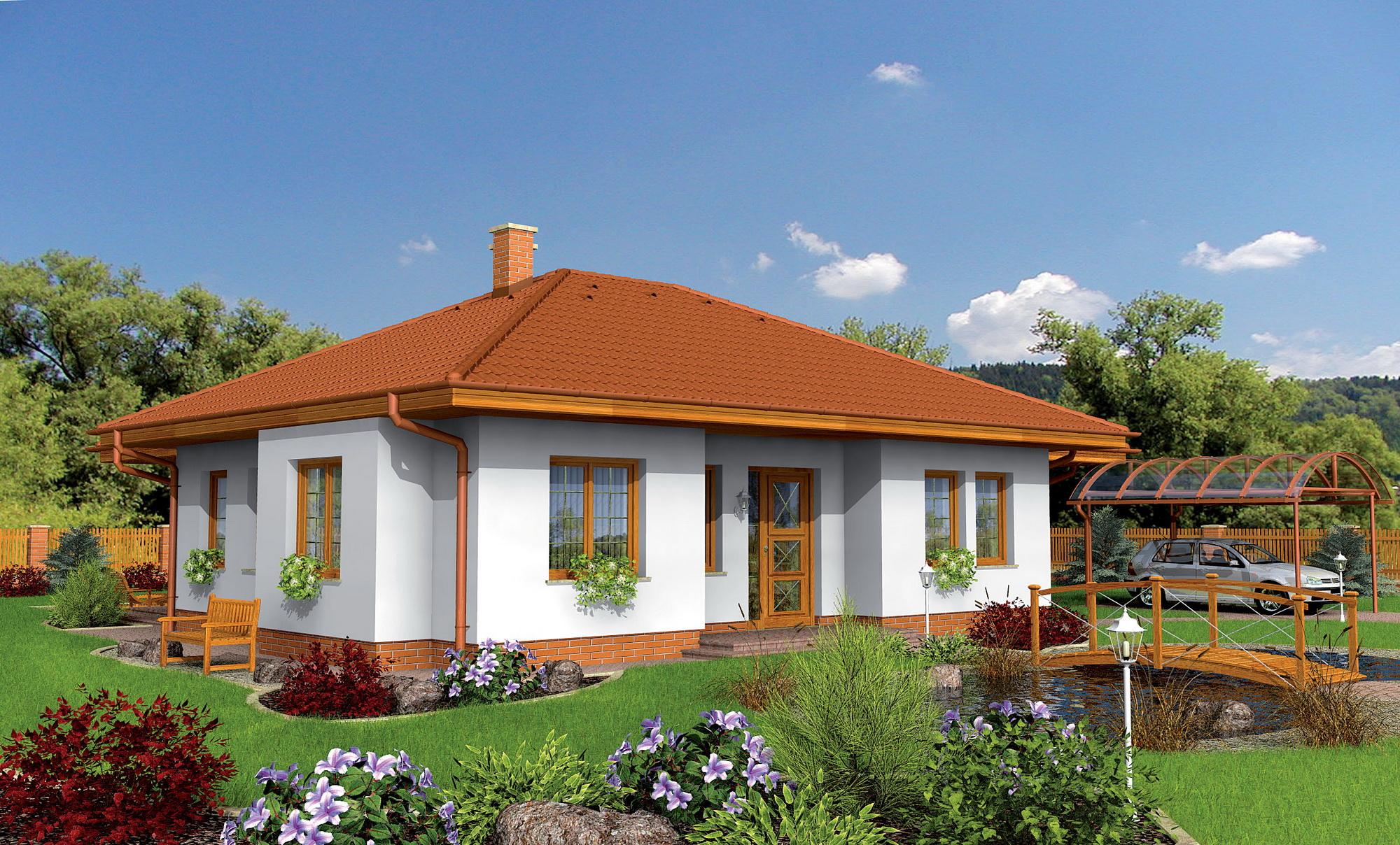 Fondos de pantalla casa dise o del paisaje hierba c sped - Paisajes de casas ...