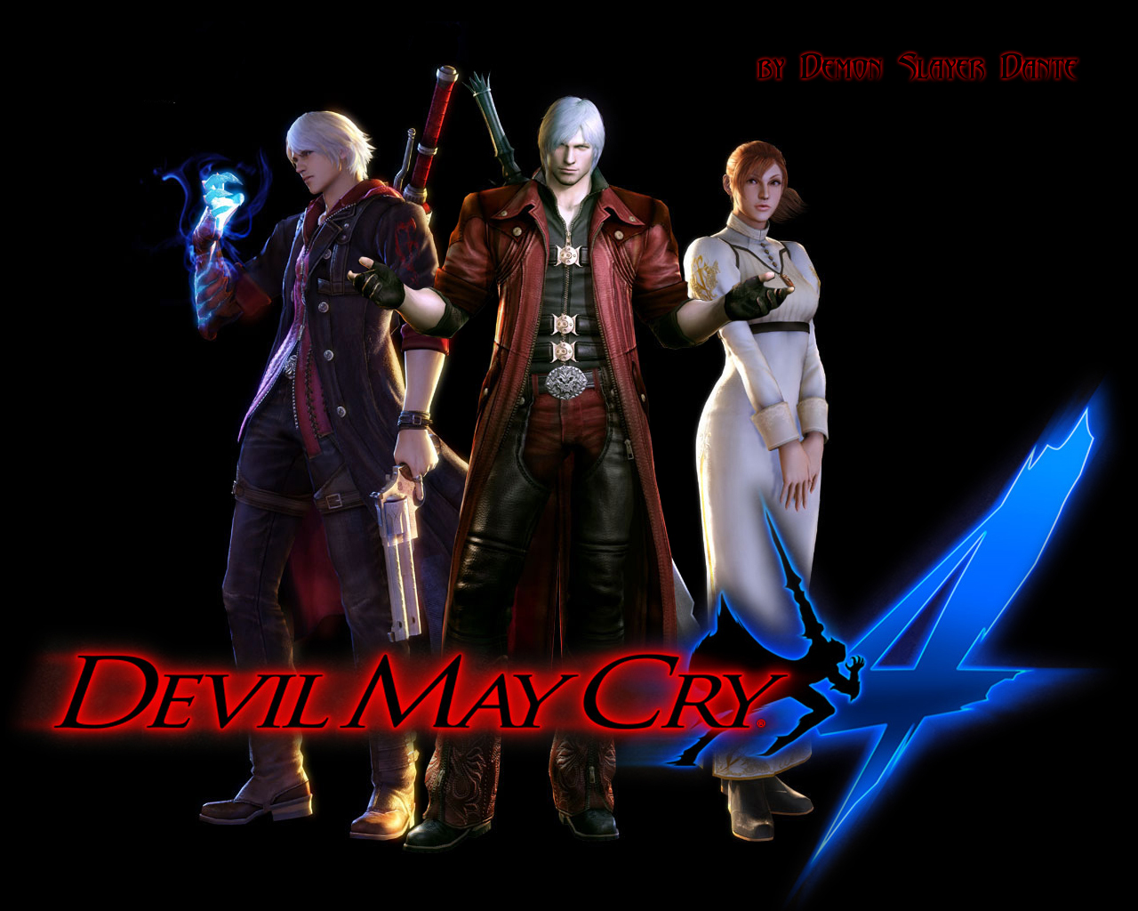 Wallpaper Dante Devil May Cry Devil May Cry 4 Games
