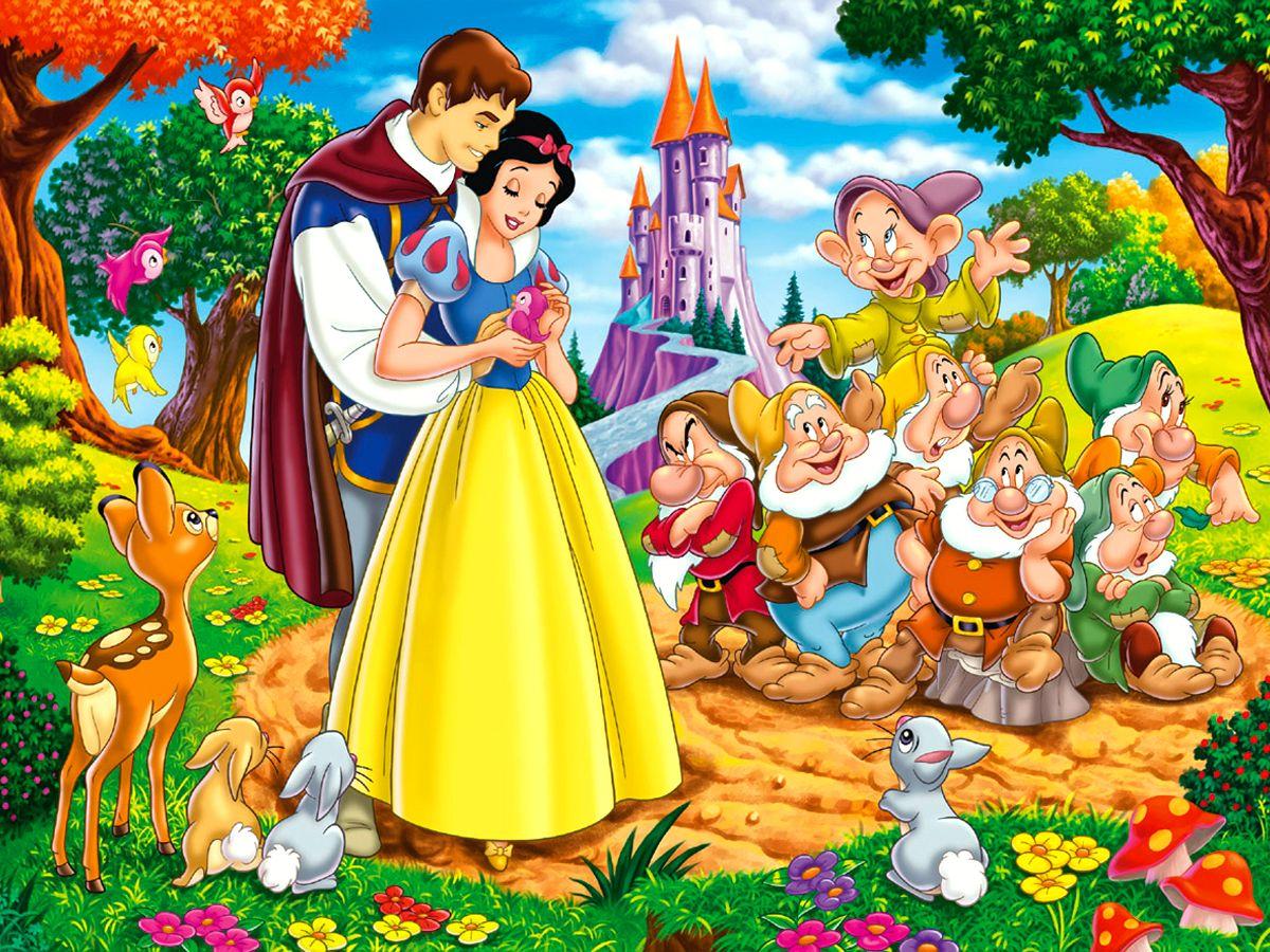 Papeis De Parede Disney Branca De Neve E Os Sete Anoes Cartoons
