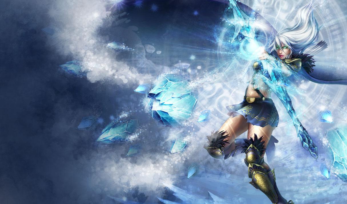 Fondos De Pantalla League Of Legends Ashe Lol Juegos
