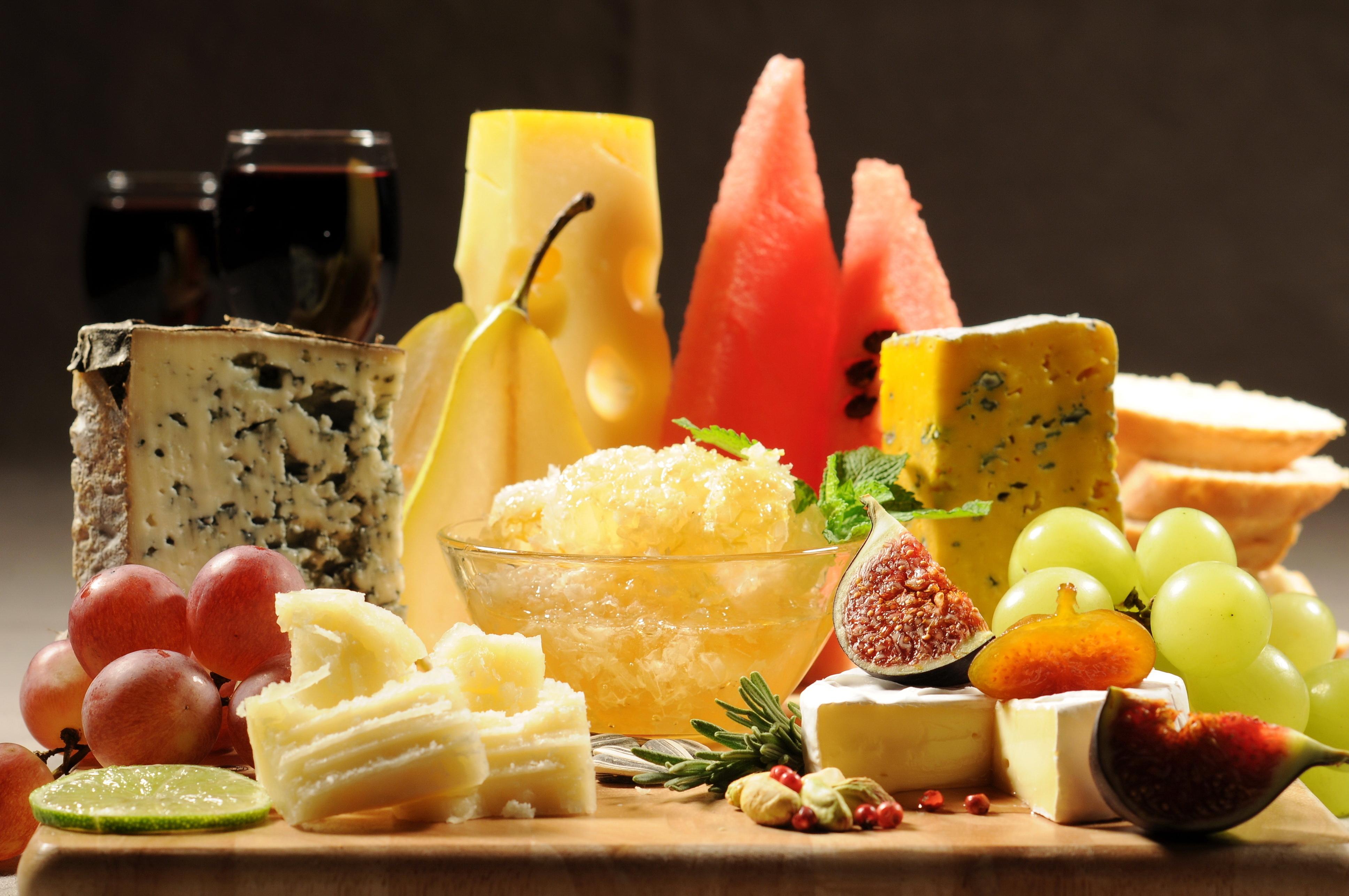 Resultado de imagen para frutas queso