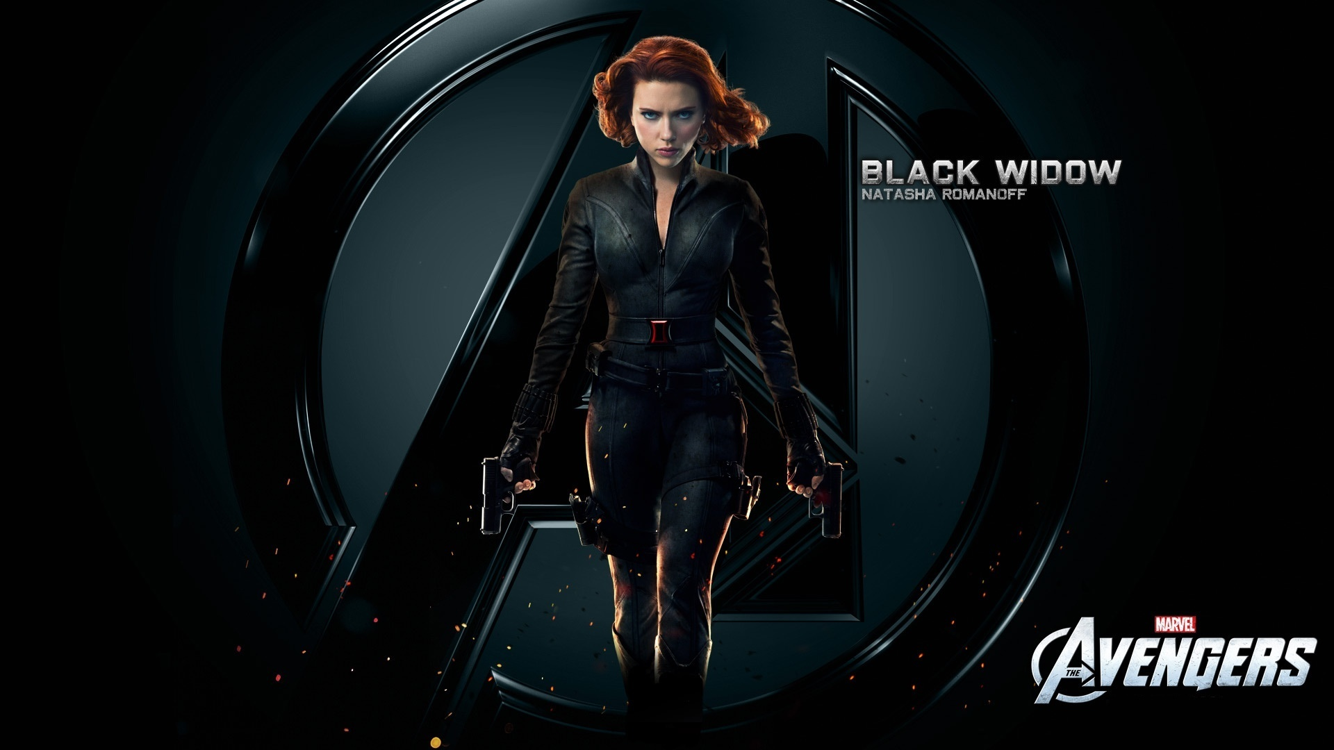 Fotos Marvel's The Avengers 2012 Scarlett Johansson BLACK WIDOW Film