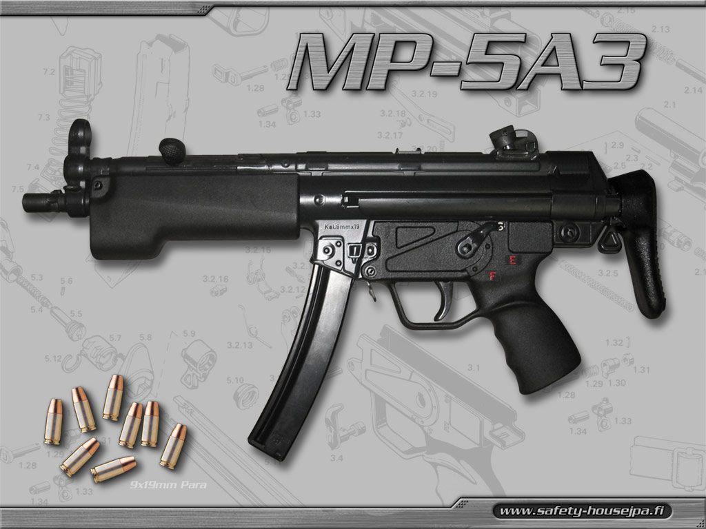 Wallpaper Submachine Gun SMG Assault Rifle Army