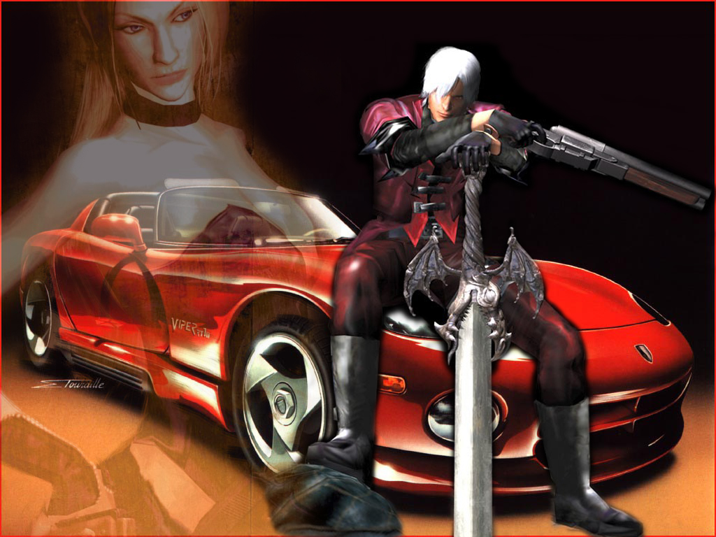 Wallpapers Dante Devil May Cry Devil May Cry 1 Games