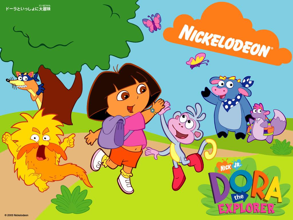 image dora the explorer cartoons