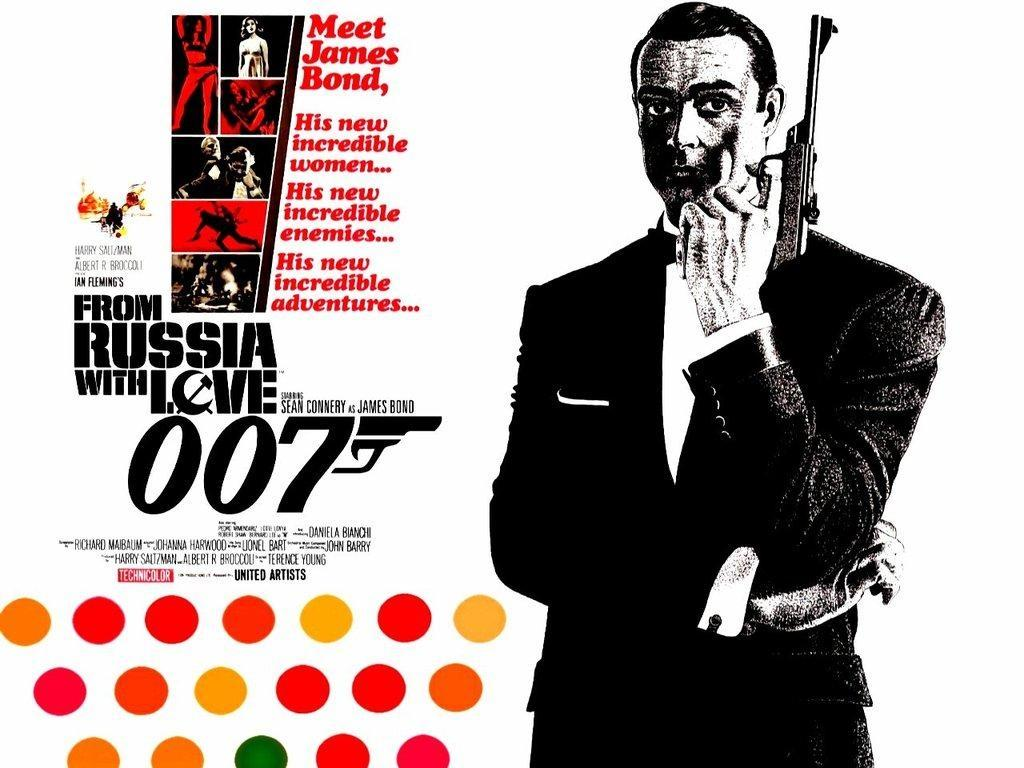 壁紙 ジェームズ ボンド 007 007 ロシアより愛をこめて 映画 ダウンロード 写真