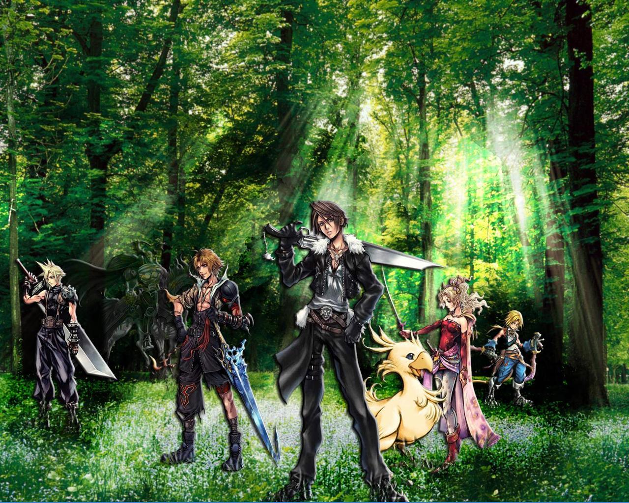 Fonds Decran Final Fantasy Final Fantasy Vii Crisis Core Jeux