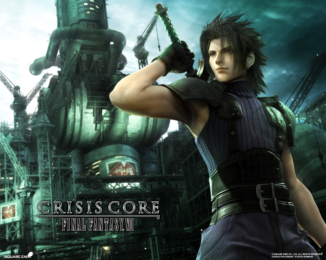 Pictures Final Fantasy Final Fantasy Vii Crisis Core 1280x1024