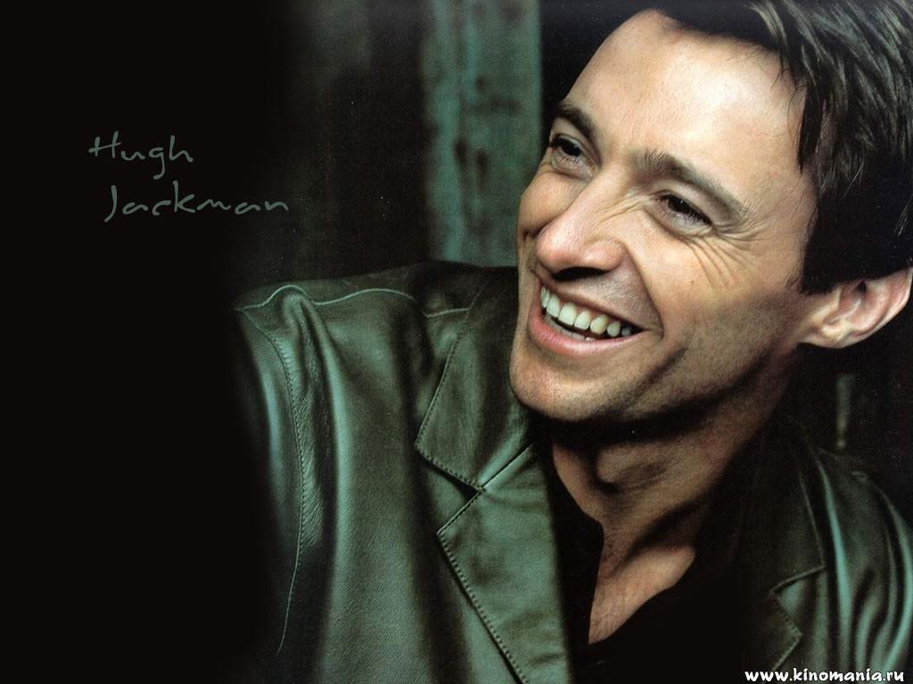 笑顔のヒュー・ジャックマン