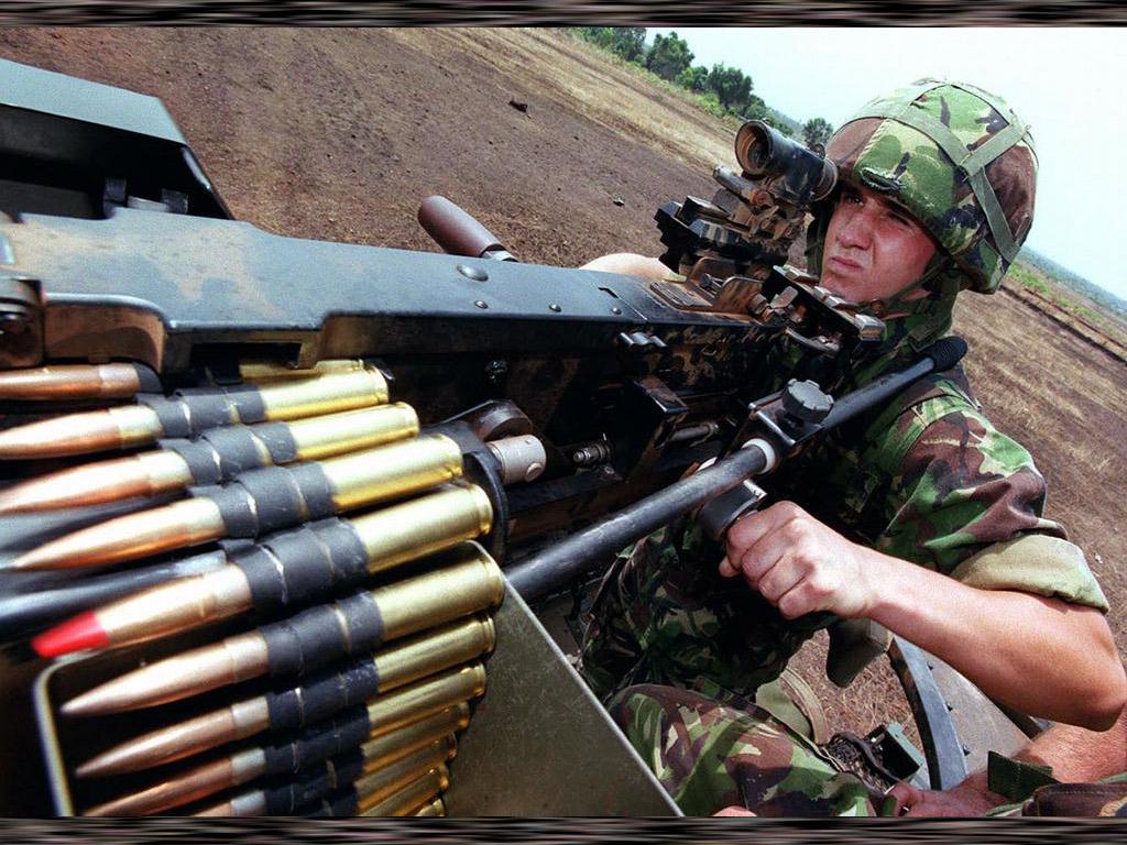 Wallpaper Machine Guns Military