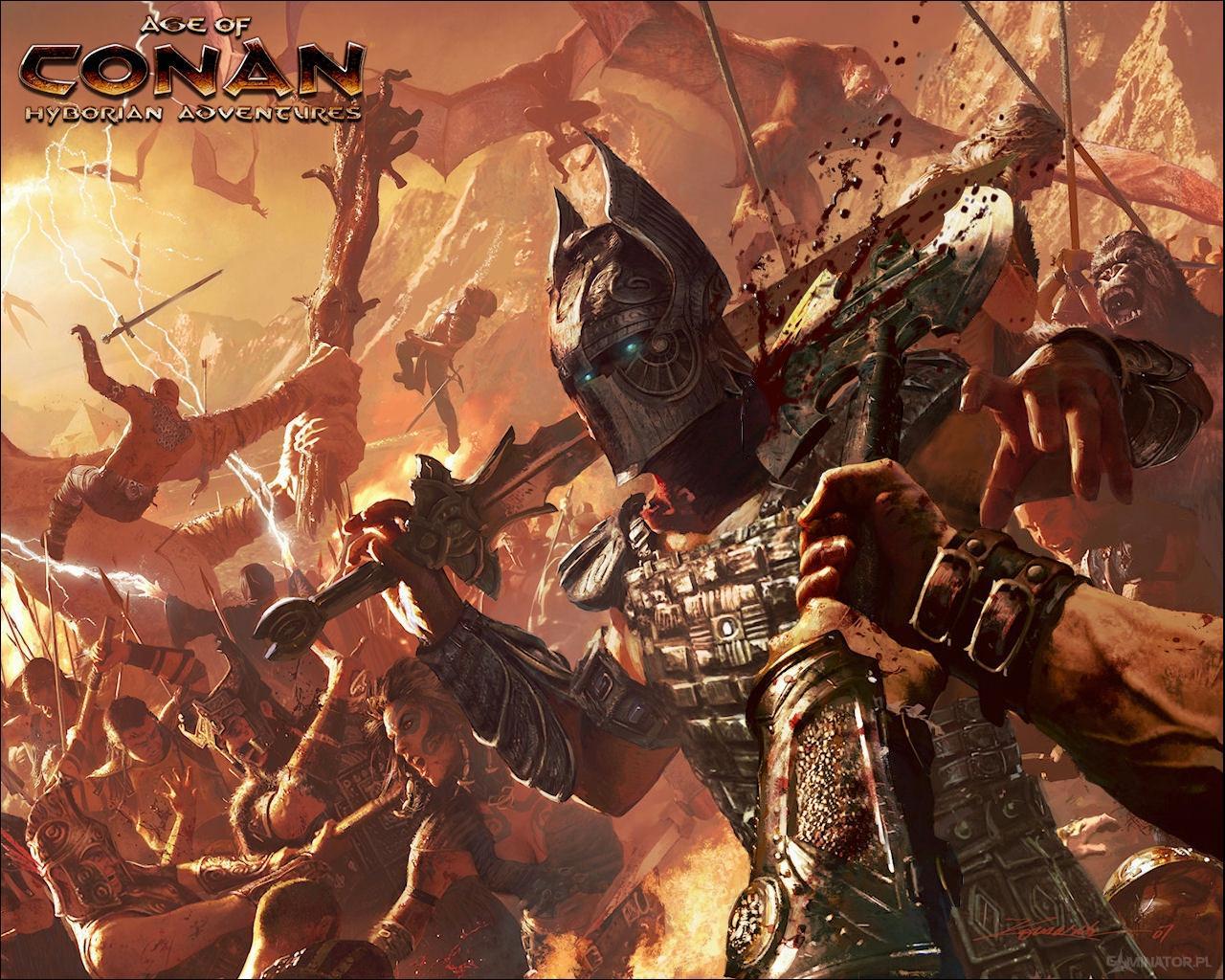 wallpapers age of conan: hyborian adventures games