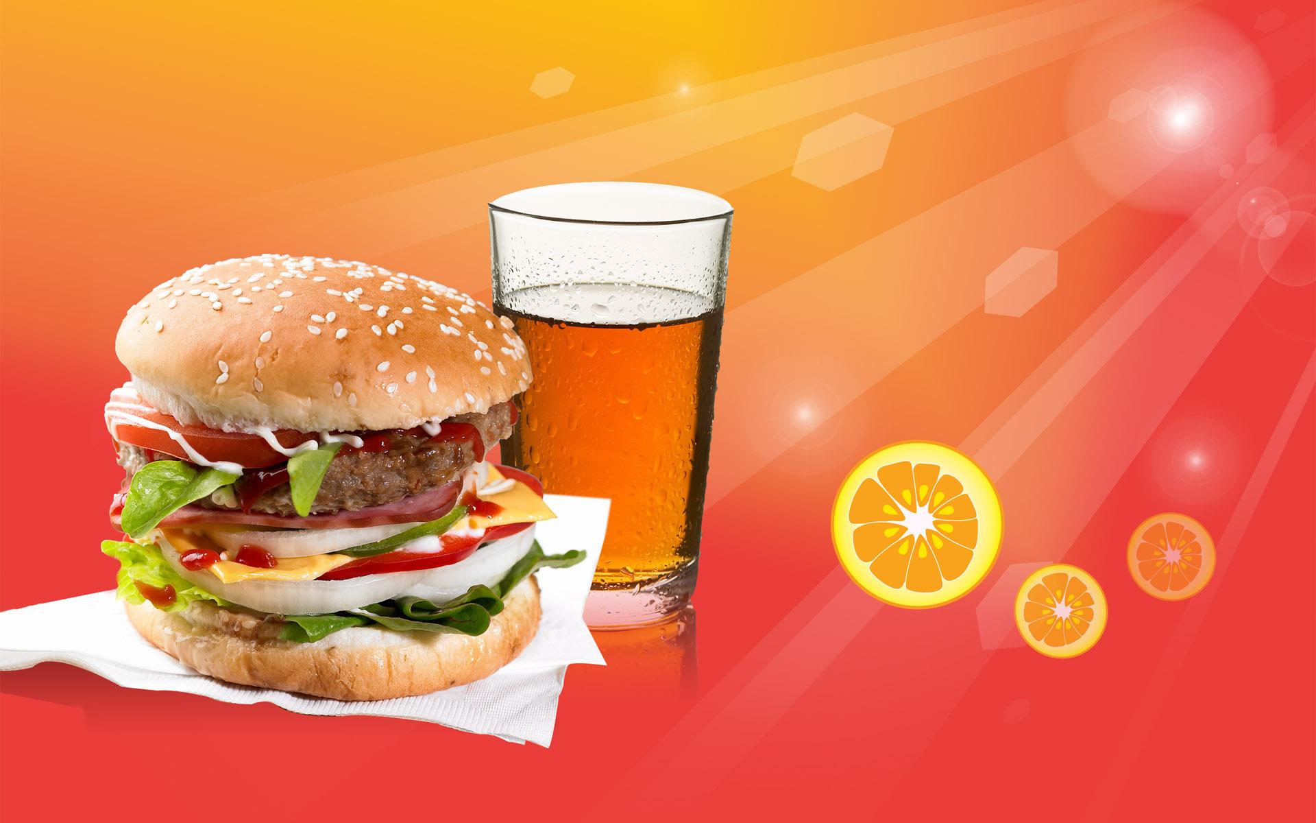 Hd wallpaper cute - Fondos De Pantalla Bebida Hamburguesa T 233 Comida R 225 Pida