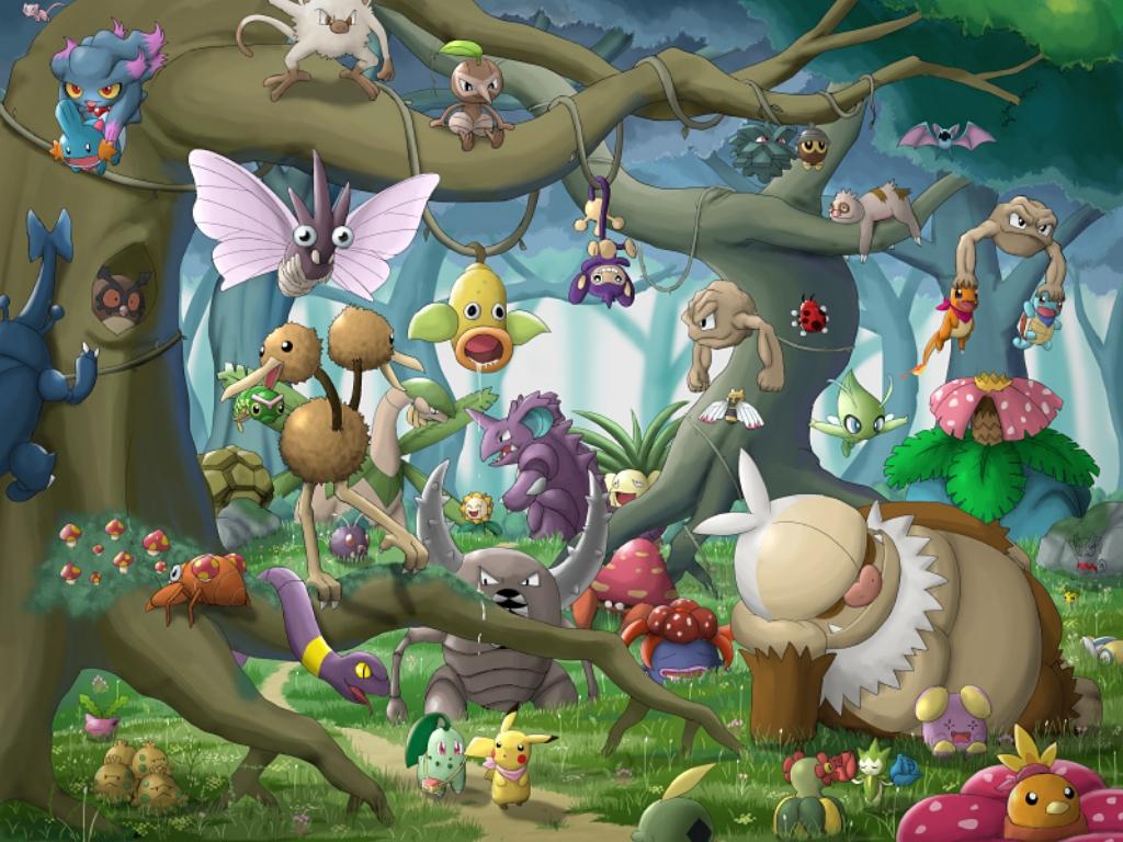 Fonds D Ecran Pokemon Games Jeux Telecharger Photo