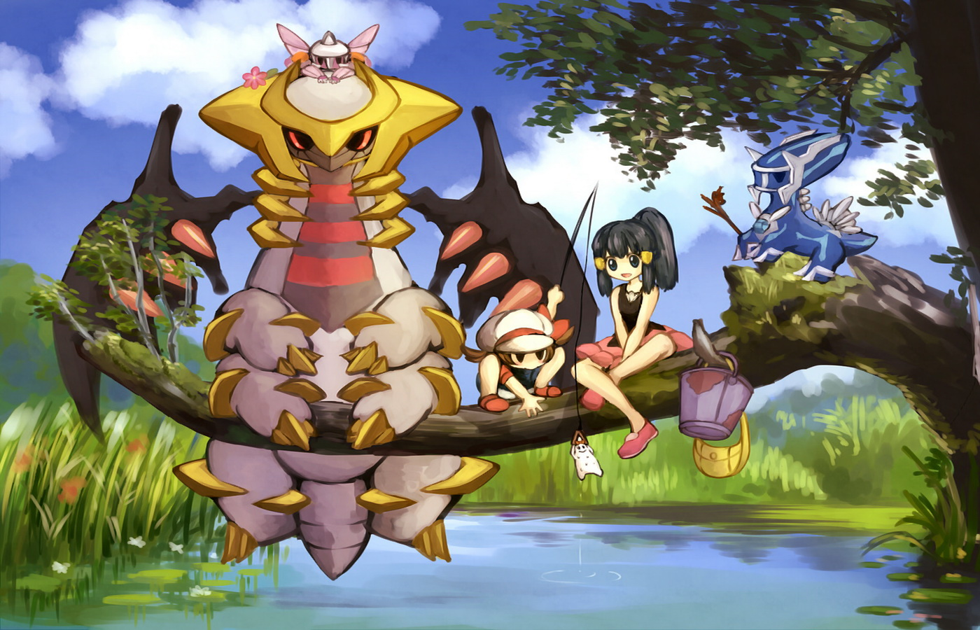 Fonds D Ecran Pocket Monster Anime Telecharger Photo