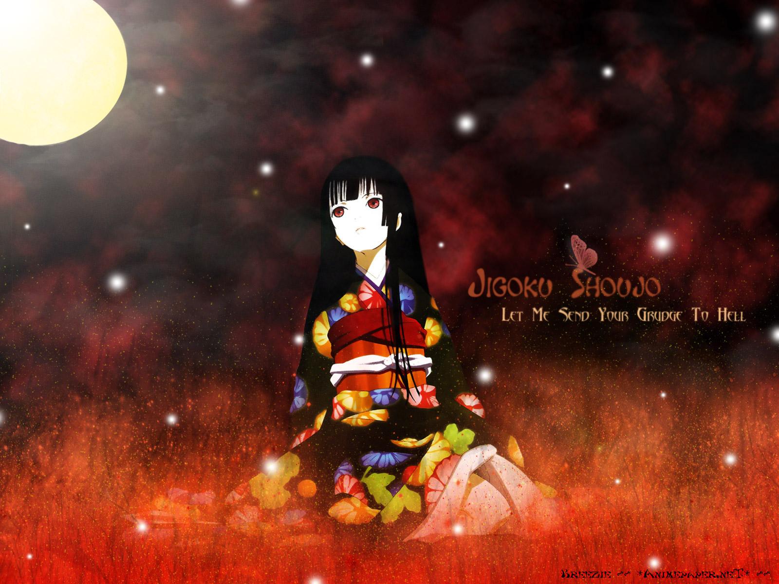 壁紙 地狱少女 日本动画 下载 照片