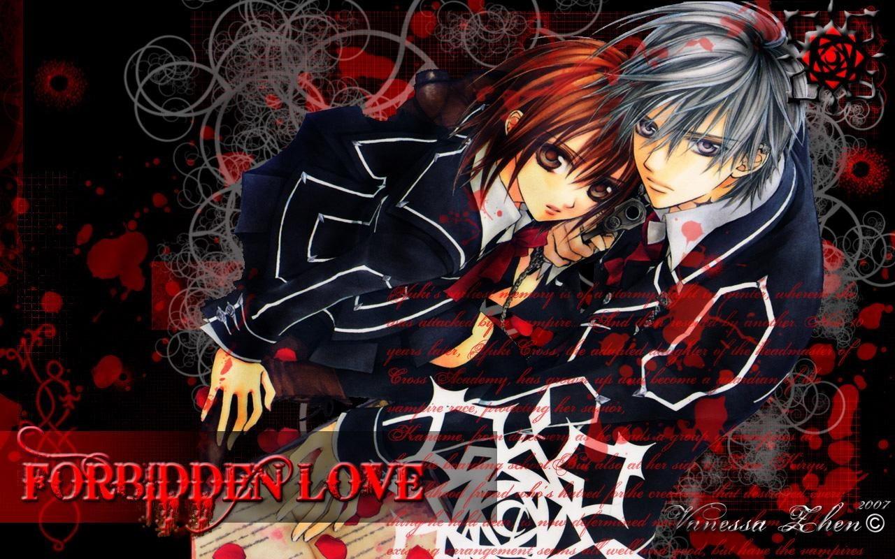 Fondos De Pantalla Vampire Knight Anime Descargar Imagenes