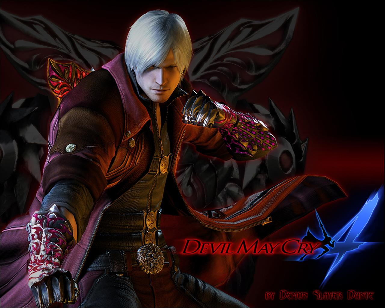 Desktop Wallpapers Dante Devil May Cry Devil May Cry 4 Games