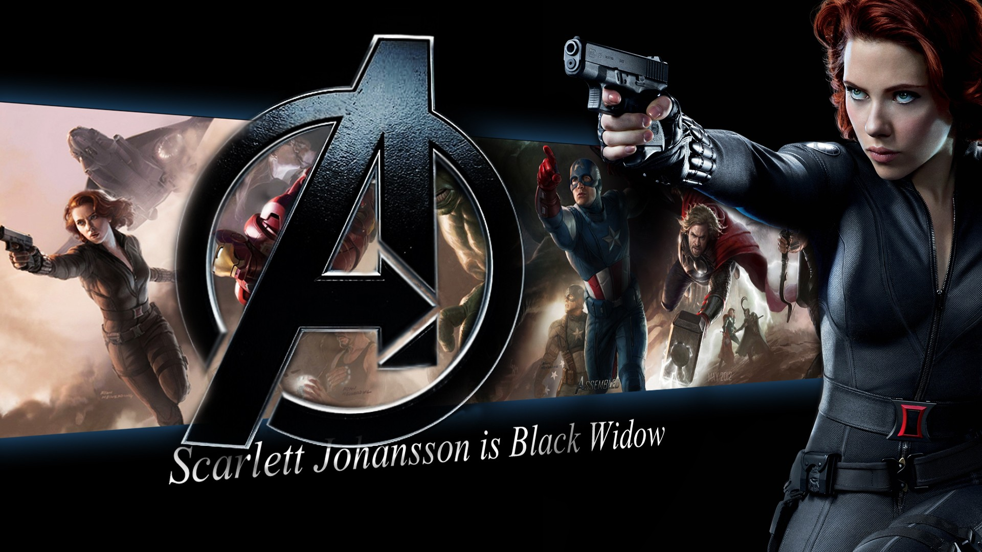 Picture The Avengers 2012 Film Scarlett Johansson Movies