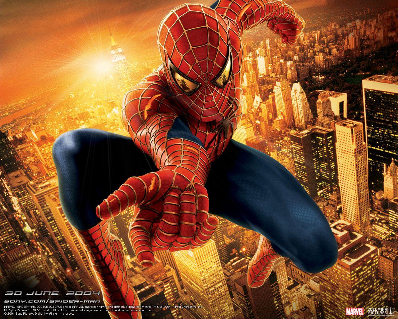 Wallpaper Spider-man Spider-Man 2 Spiderman hero Movies film