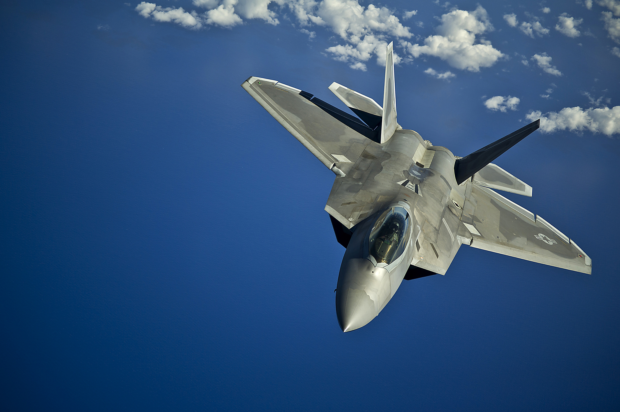 Fonds d'ecran Avions Avion de chasse F-22 Raptor Aviation télécharger photo