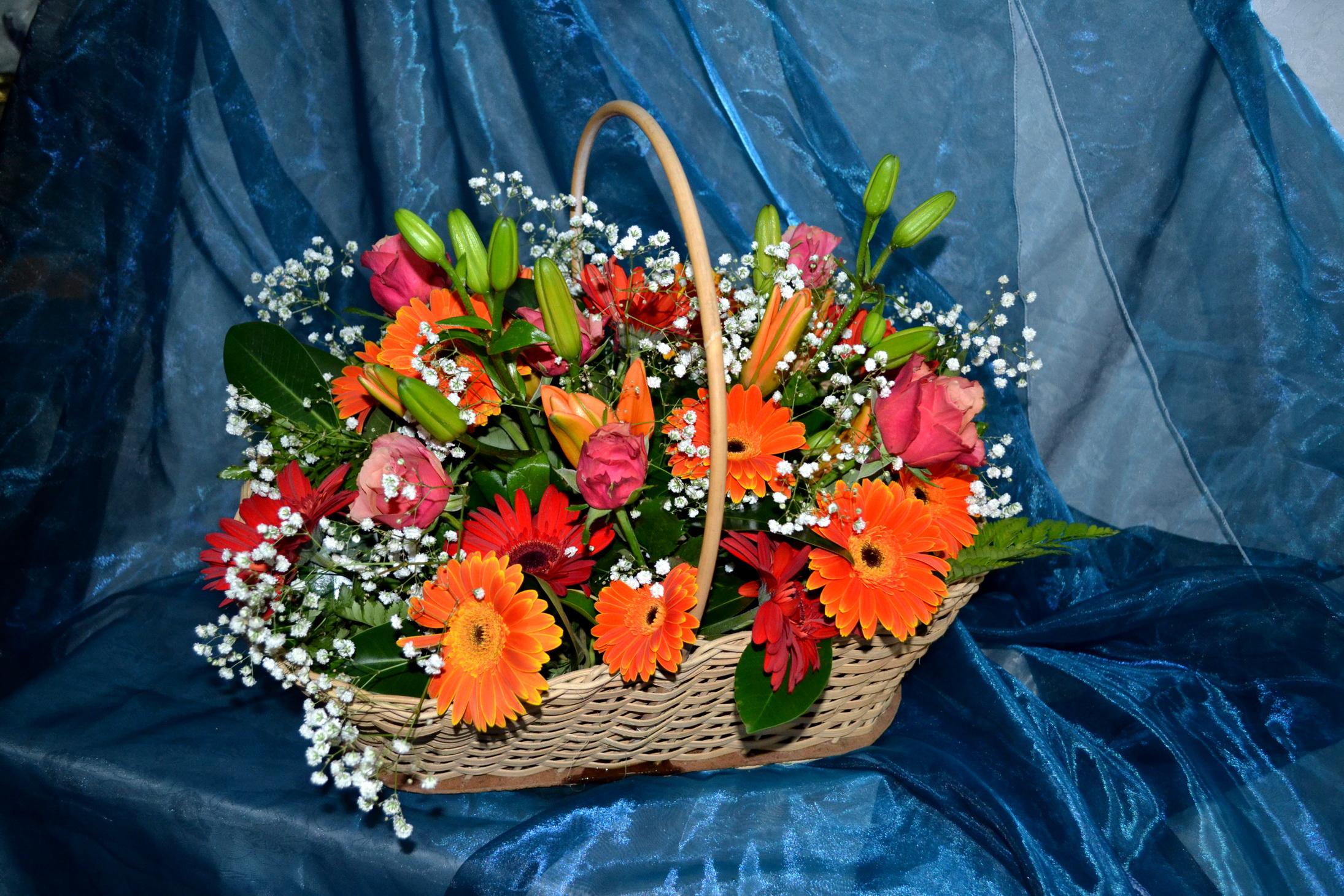 Картинки из цветов фото