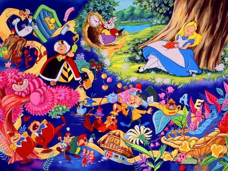 Pictures Disney Alice In Wonderland Cartoons Cartoons
