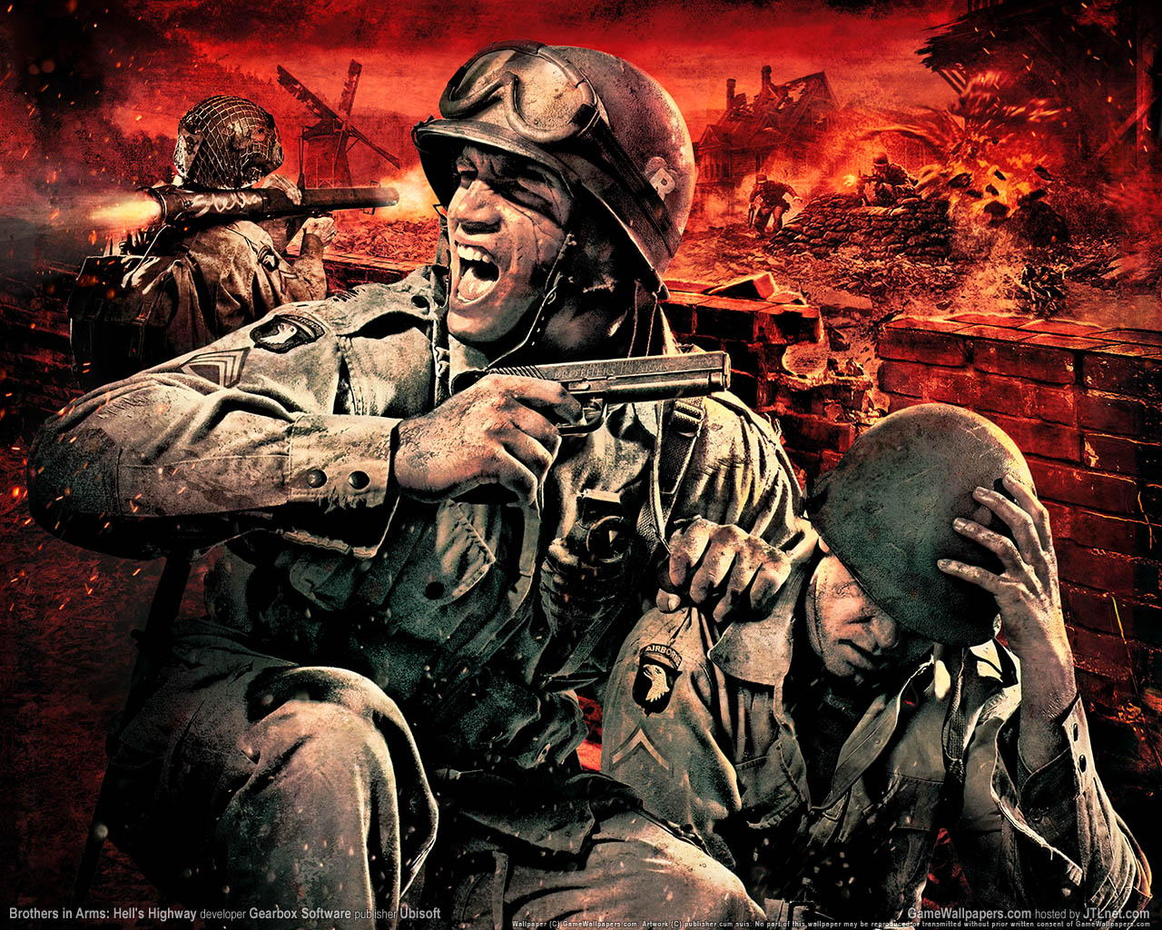 photo brothers in arms brothers in arms: hell's highway games