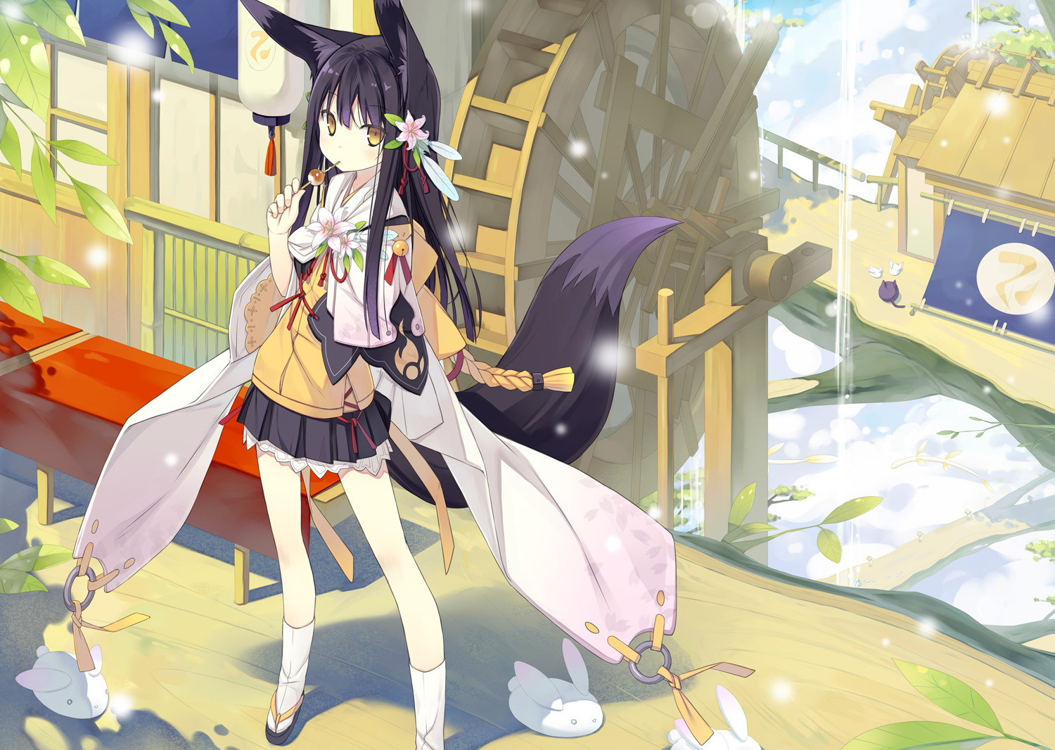 Photo kitsune anime