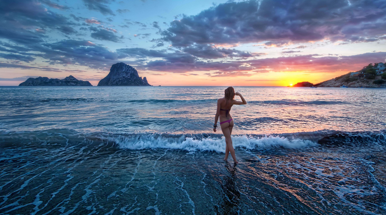 Солнце пляж девушки 8 фотография