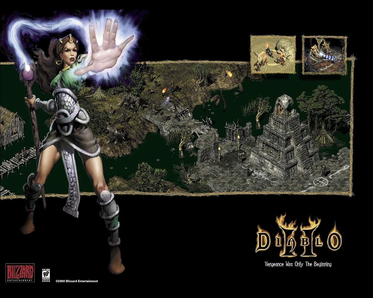 Wallpapers Diablo Diablo 2 Games Diablo II