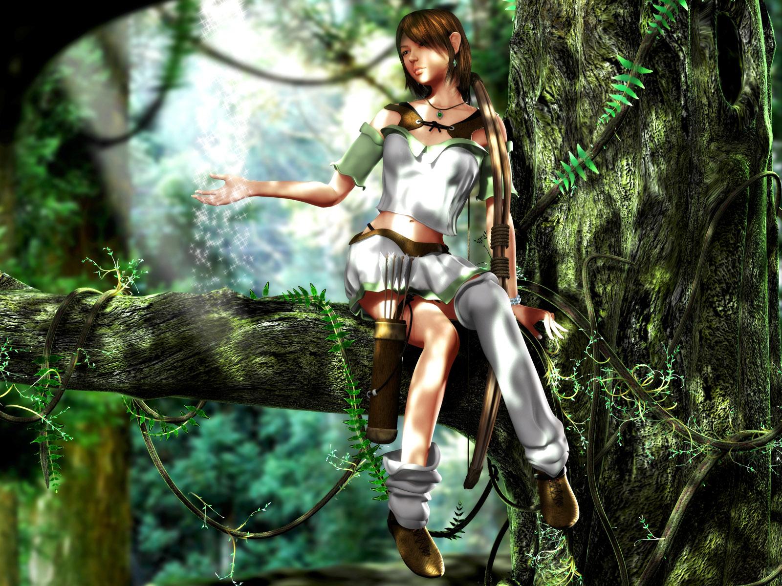 wallpaper girls 3d graphics
