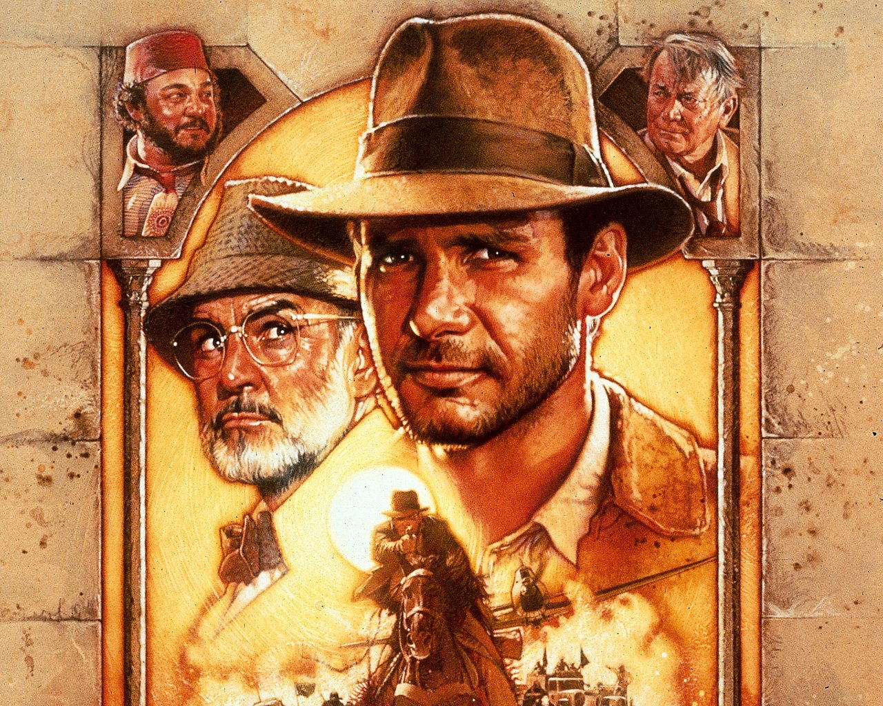 Desktop Wallpapers Indiana Jones Indiana Jones and the Last Crusade film Movies
