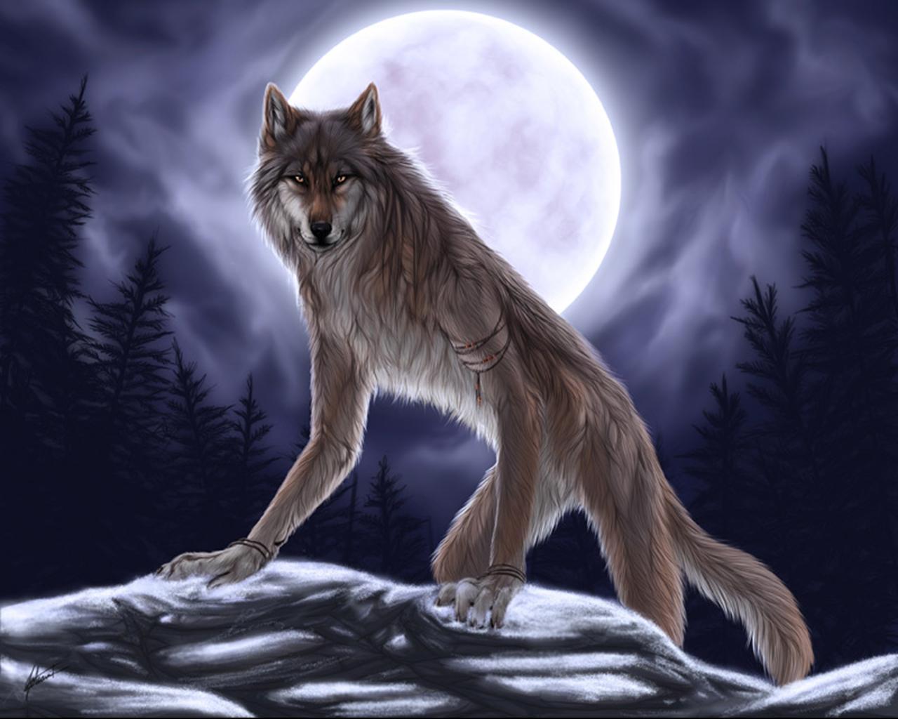 волки оборотни картинки