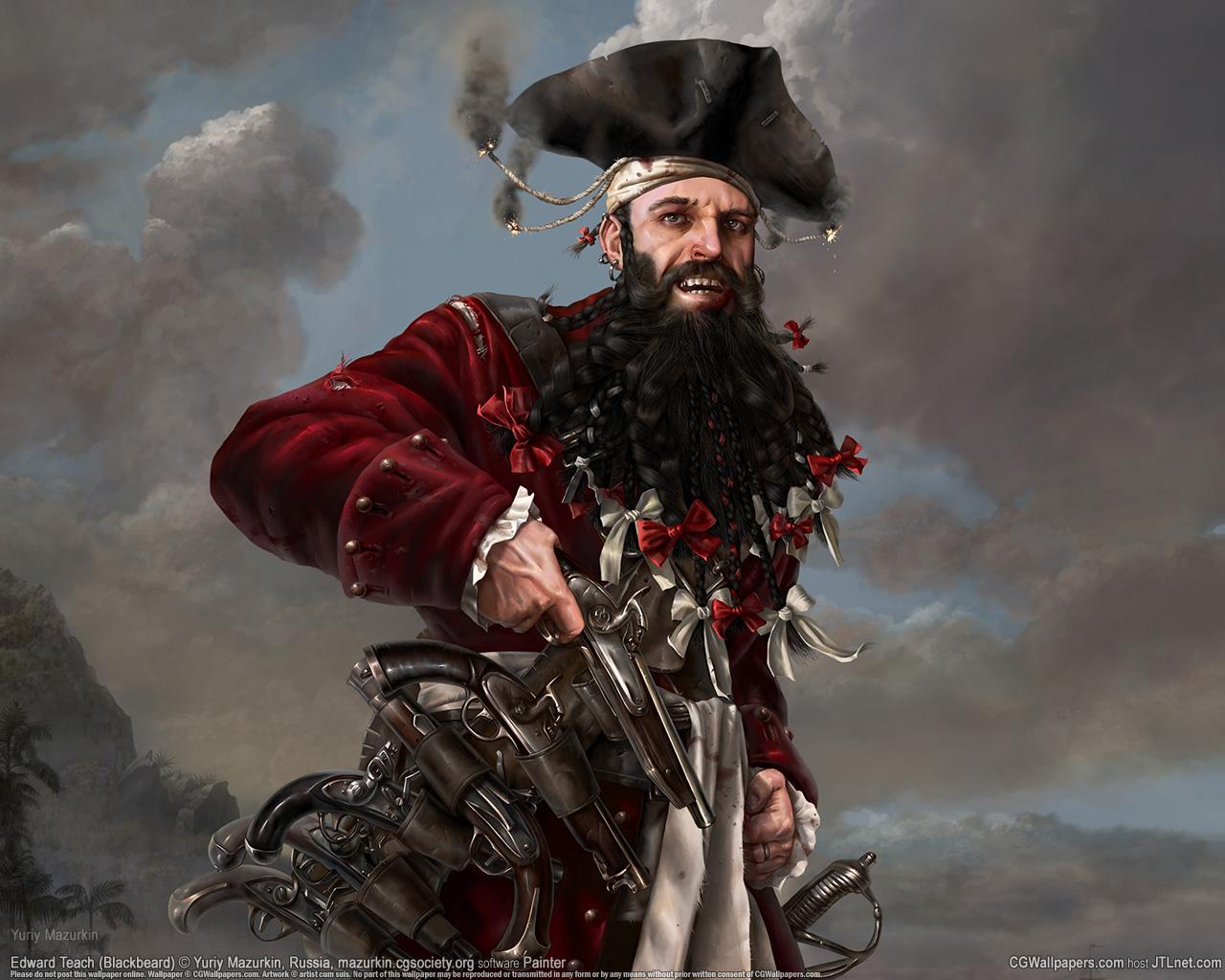 Fondos de Pantalla Piratas Varón Pistola Sombrero de Fantasía descargar  imagenes