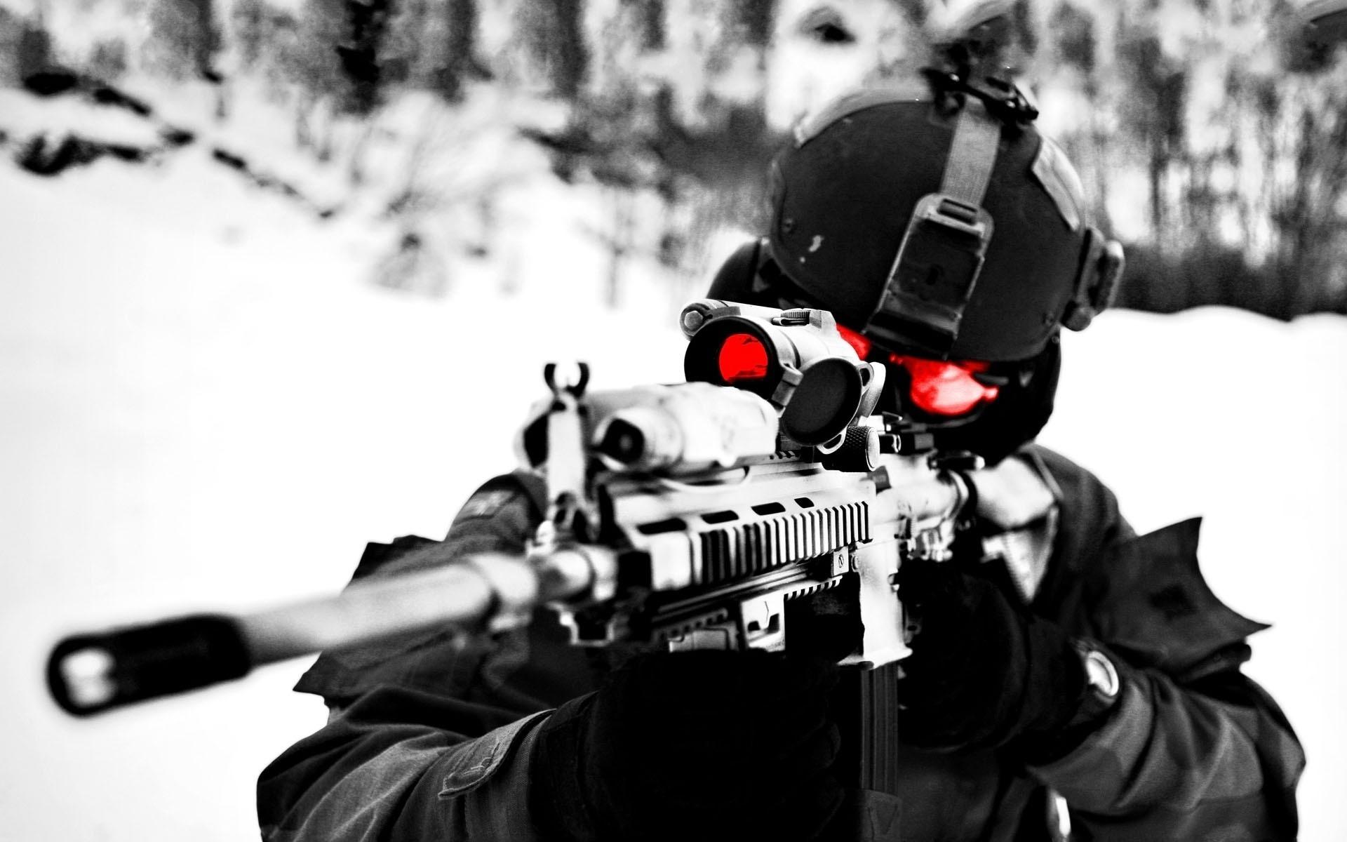 壁紙 兵 スナイパーライフル 狙撃手 陸軍 ダウンロード 写真