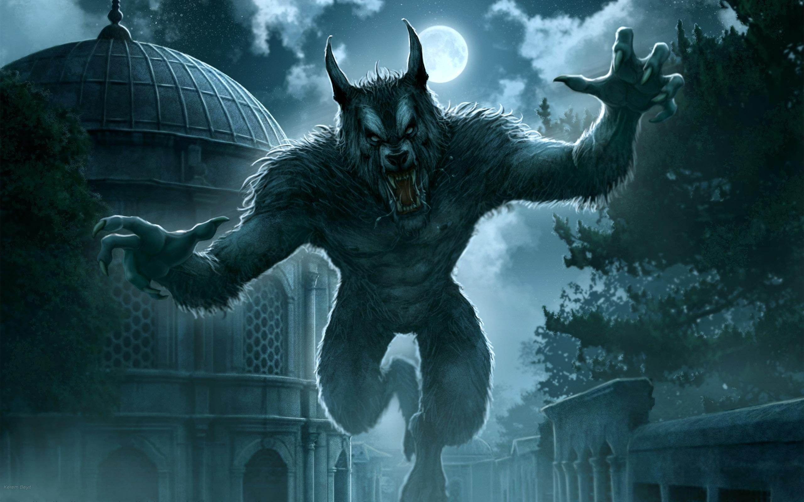 Desktop Wallpapers Kerem Beyit Monsters Fantasy monster