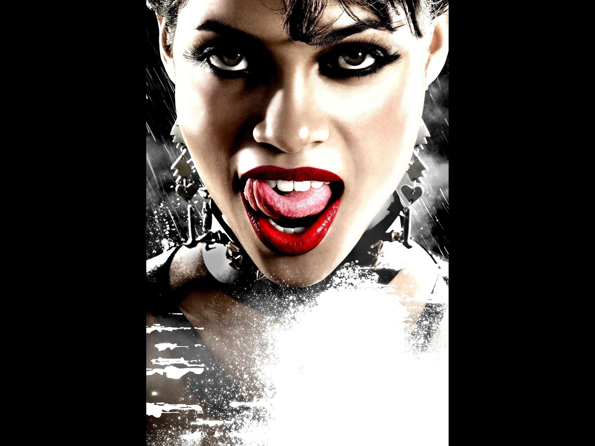 Fondos de Pantalla 2048x1536 Sin City Lengua (anatomía) Película ...