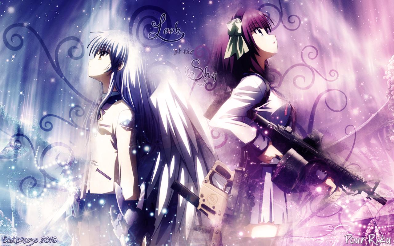 Fondos De Pantalla Angel Beats Anime Descargar Imagenes