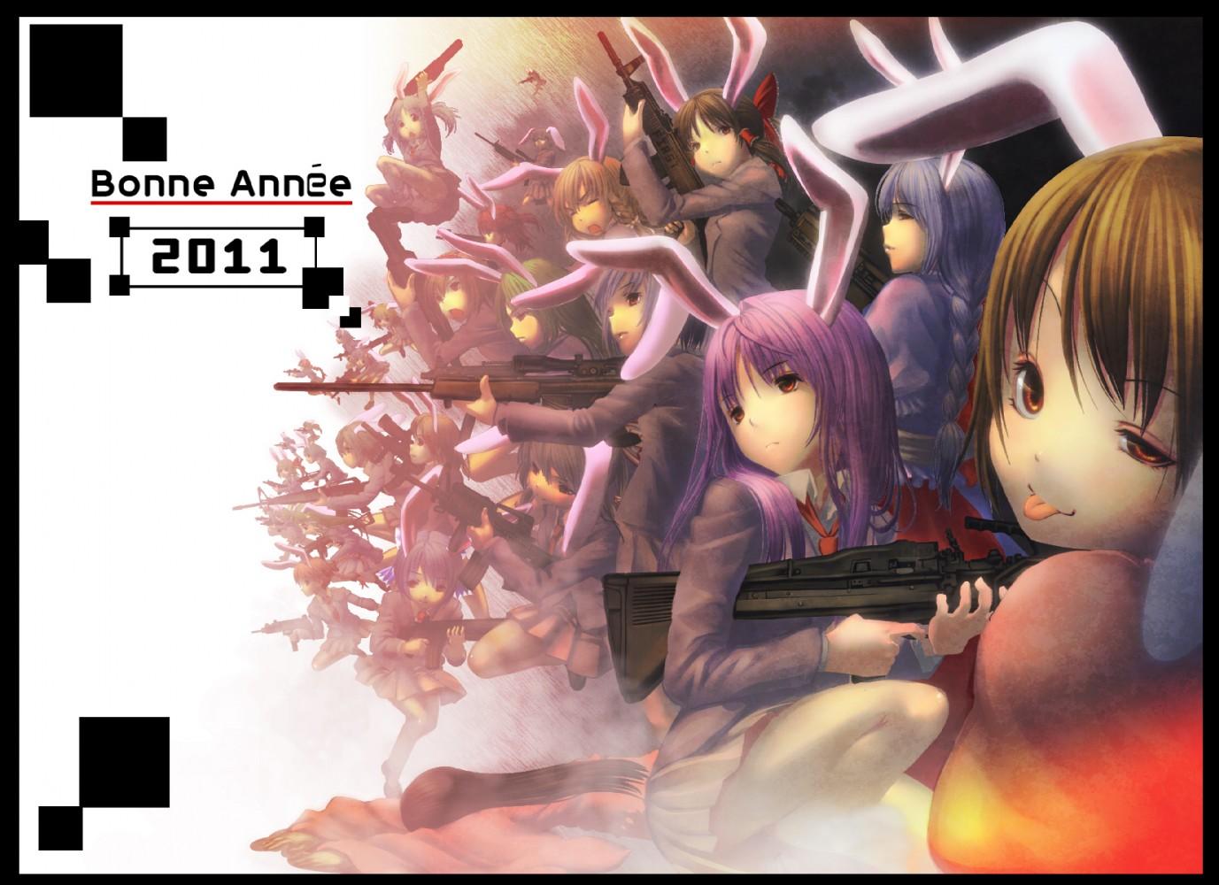 壁紙 バニーガール ウサギの耳 アニメ ダウンロード 写真