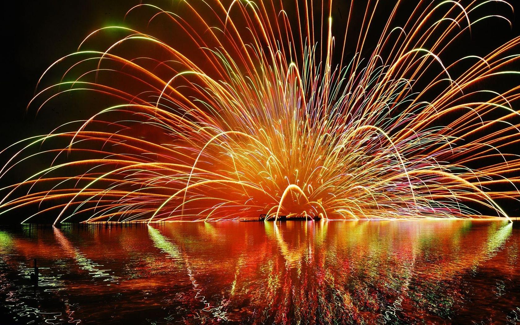Picture Fireworks Holidays