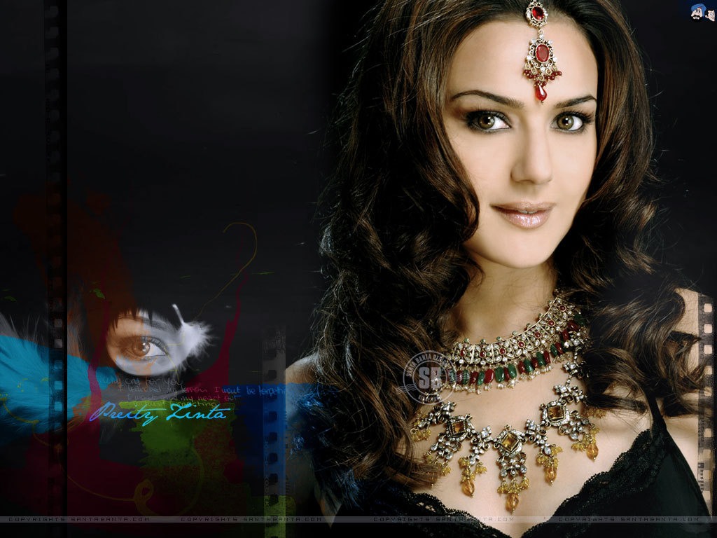 Wallpapers Preity Zinta Indian Celebrities