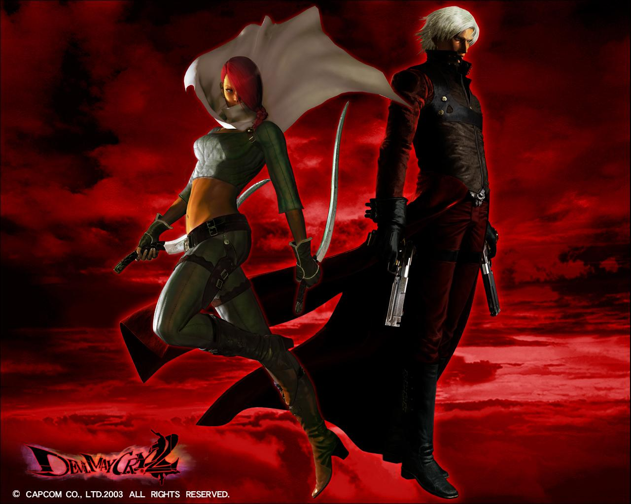 Wallpapers Dante Devil May Cry Devil May Cry 2 Games